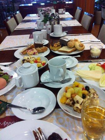Clarion Congress Hotel Prague: Kahvaltı menusü çok geniş..