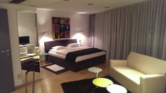 Augarten Art Hotel: Double Medium room
