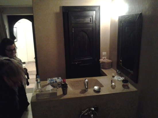 Riad Bamboo : salle bain