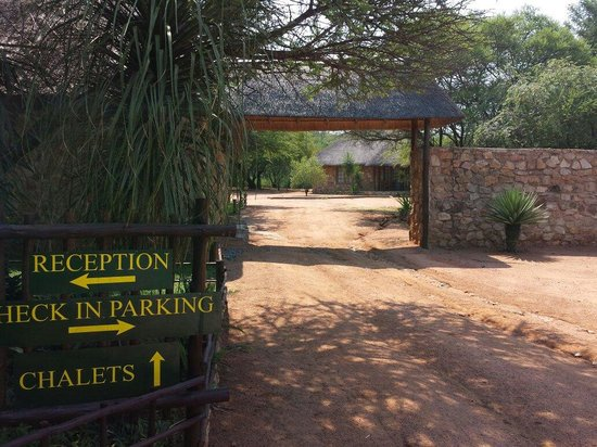 Kwamahla Conference Centre & Game Lodge: Entrada