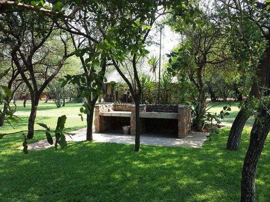 Kwamahla Conference Centre & Game Lodge: Barbacoa