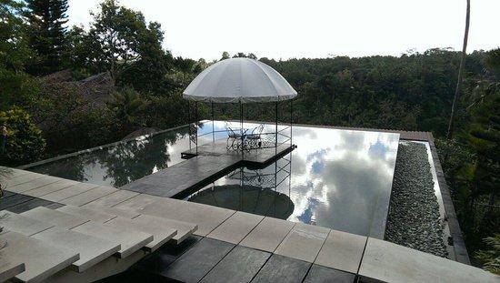 Kupu Kupu Barong Villas and Tree Spa: Personal dining area