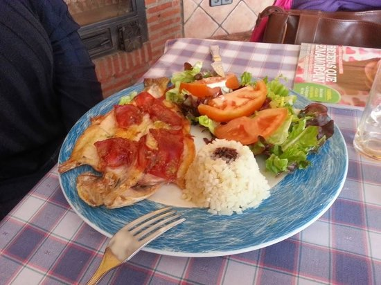 Restaurante El Pradillo: Trucha con Jamón