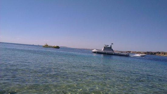 Aqua Blu Sharm: beach