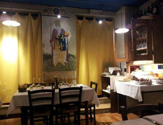 La Taverna di Via Stella: L'interno del locale