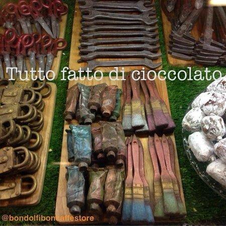 Bondolfi Boncaffe: Attrezzi di Cioccolato