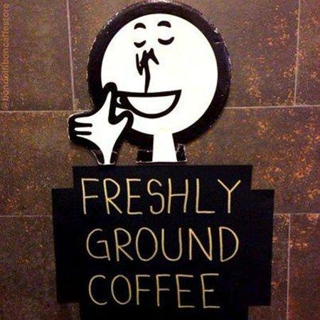 Bondolfi Boncaffe: Freshly Ground Coffee always available!