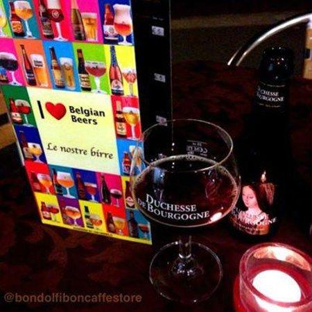 Bondolfi Boncaffe: Belgian Beers!