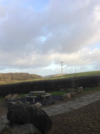 Preseli Venture Eco Lodge: Another great view from the Lodge