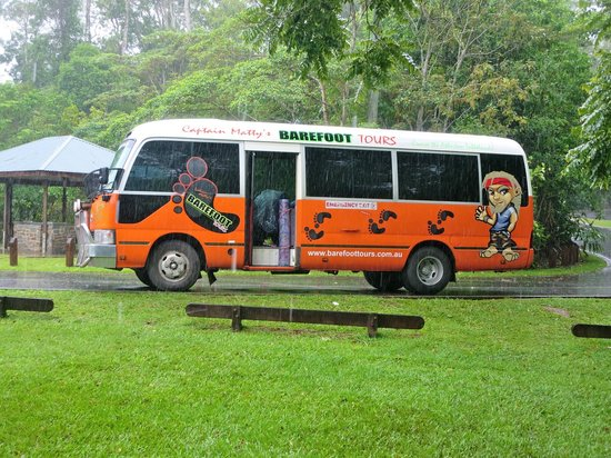 Barefoot Tours: Our bus for the day