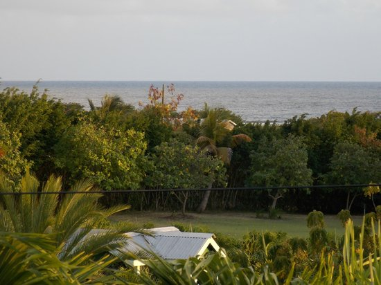 South Coast Horizons Jeep Safari Eco Tour: View from our relatives self catering accommodation, South Coast Horizons