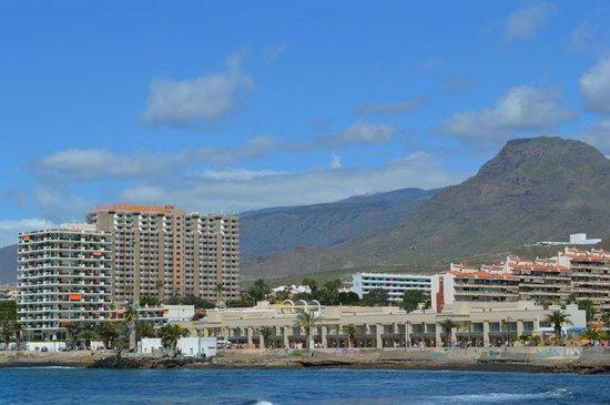 TRYP Tenerife : Widok na hotel