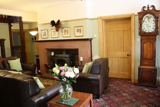 Wallsend Guest House, Wigwams and Tea Room: Guest Lounge
