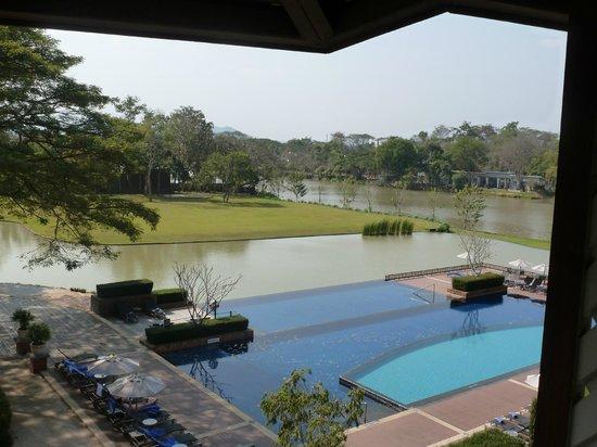 Le Meridien Chiang Rai Resort: Blick vom Balkon