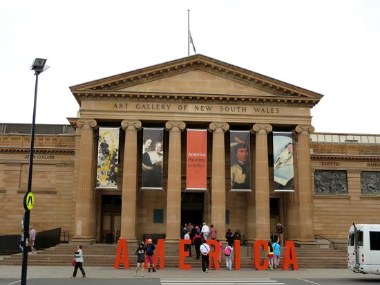 Art Gallery of New South Wales: Entrance of Gallery of New South Wales