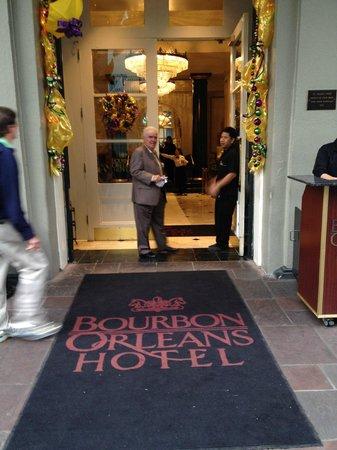 Bourbon Orleans Hotel: Front door.