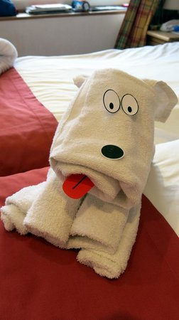 La Sapiniere: Daily towel animals for the kids