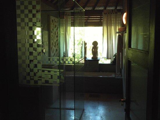Bali Spirit Hotel and Spa: the bathroom