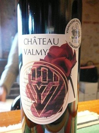 Chateau Valmy: Nice label