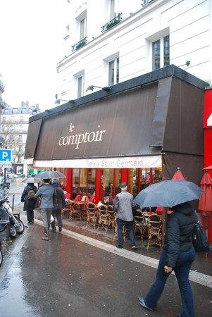 Hotel Relais Saint-Germain: the Comptoir