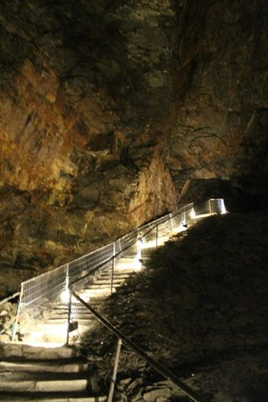 Carnglaze Caverns: Stairs