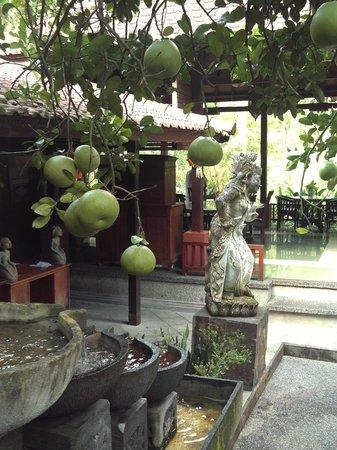 Bali Spirit Hotel and Spa : the restauraunt