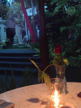 Bali Spirit Hotel and Spa : valentines day romantic dinner