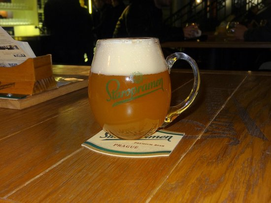 Staropramen Visitor Center : A small beer to comfort you