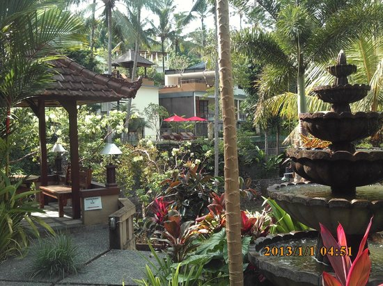 Bali Spirit Hotel and Spa: the grounds