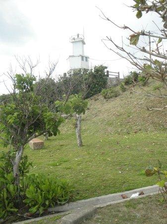 Kannonzaki Lighthouse: 竹富島や西表島が見える