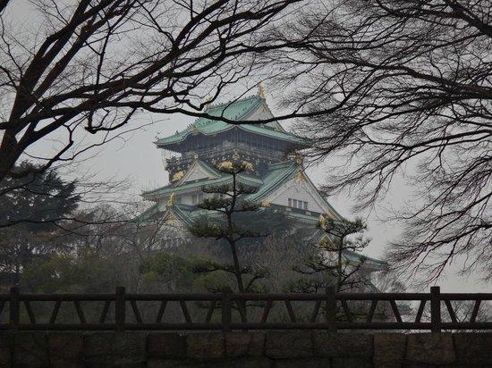 Osaka Castle : 大阪城公園から望む天守閣