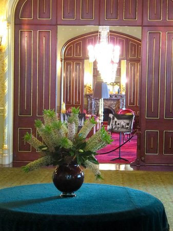 Government House: A view of thr drawing room from the ballroom