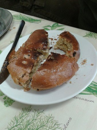 Herb Garden Cafe: Toasted teacake