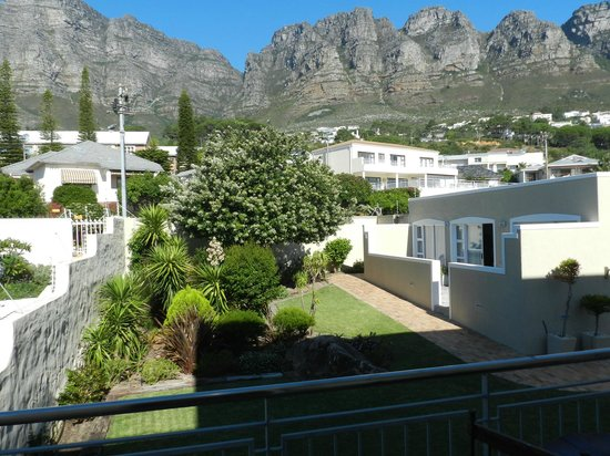 3 On Camps Bay Boutique Hotel: View from Room 10