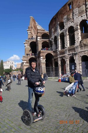 Rome by Segway: Very first time segway experience