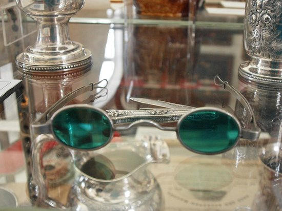 Green spectacles at the Bennington Museum