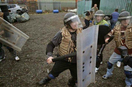 Zombie Boot Camp: round 1