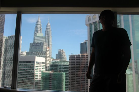 Hotel Istana: Вид из окна номера