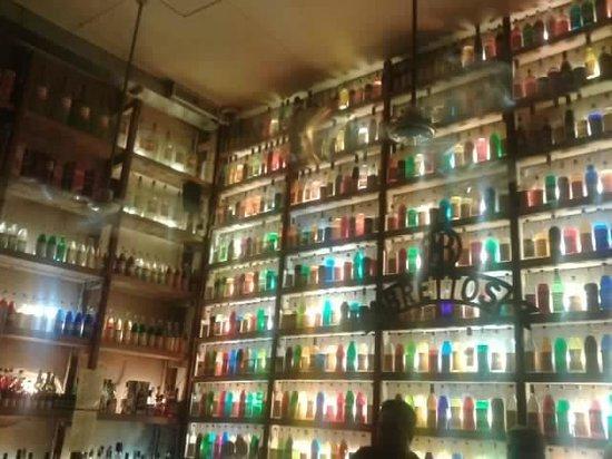 Brettos Bar: Best bar decoration ever!