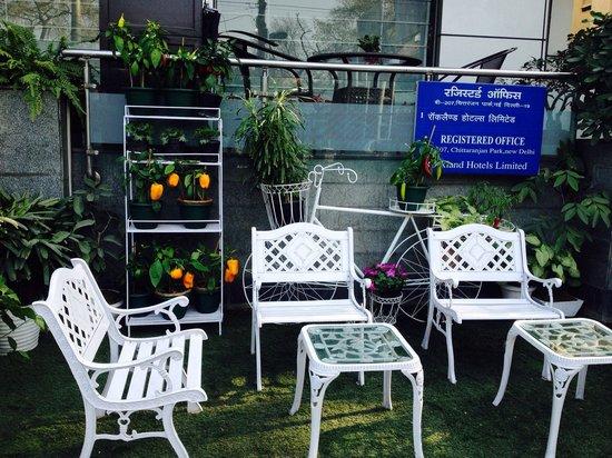 Rockland Hotel C R Park: Garden
