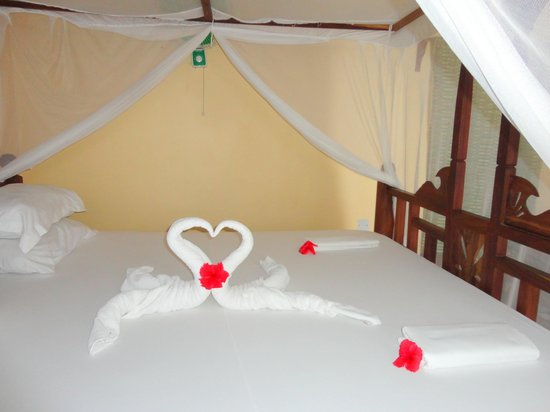 Blue Oyster Hotel: Beautiful Valentines day decoration in the room