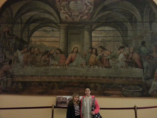 Museo della Scienza e della Tecnologia Leonardo da Vinci: Last Supper