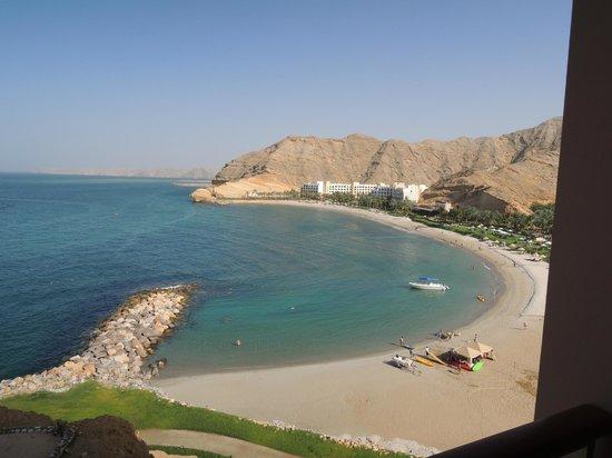 Shangri La Barr Al Jissah Resort & Spa-Al Husn: View from our room