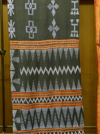 Ethnologisches Museum: Ta Oi Weaving
