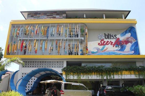 Bliss Surfer Hotel: bliss wayan hotel ^.^