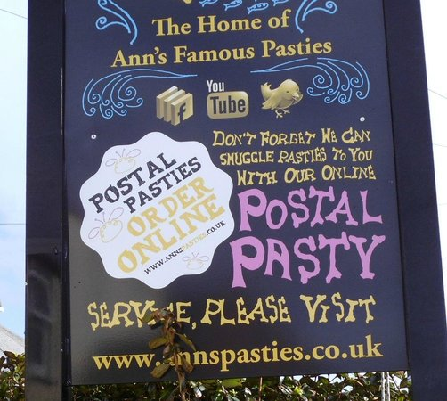 Ann's Pasties: Post a Pasty!!