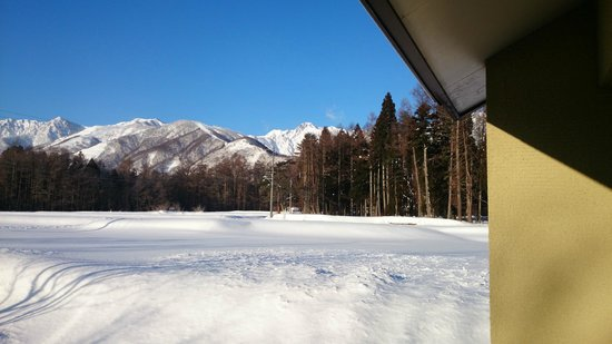 Hotel Saito: 窓からの風景