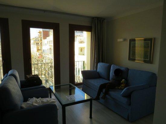 Prestige Hotel Mar y Sol Elit : Vista desde el comedor