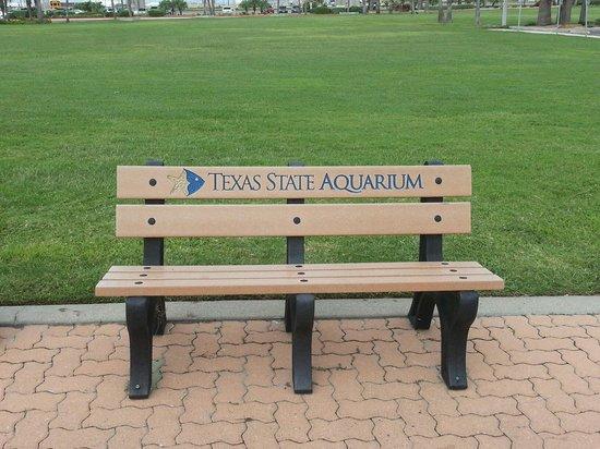 Texas State Aquarium: Resting spot