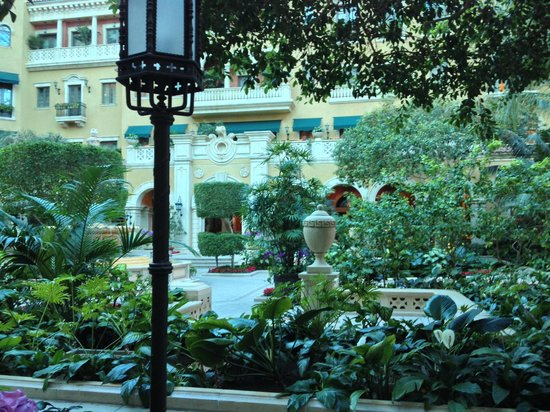 """Skylofts at MGM Grand: """"The Mansion"""" - ate breakfast here"""
